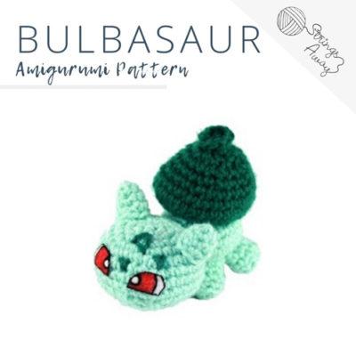 Pokemon Amigurumi Pattern – Bulbasaur