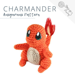 Pokemon Amigurumi Pattern – Charmander