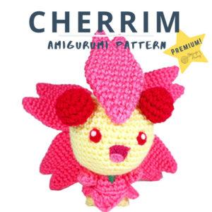 Sunshine Cherrim Amigurumi- Premium PDF Crochet Pattern