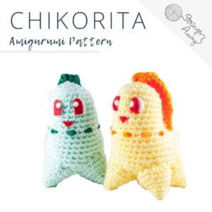 Pokemon Amigurumi Pattern – Chikorita