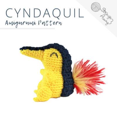 Pokemon Cyndaquil Amigurumi Pattern