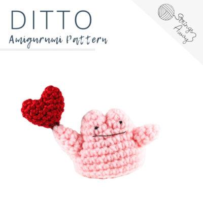 Pokemon Amigurumi Pattern – Ditto