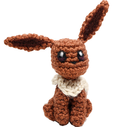 Tiny Eevee Pokemon Amigurumi Pattern