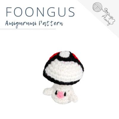 Pokemon Amigurumi Pattern – Foongus