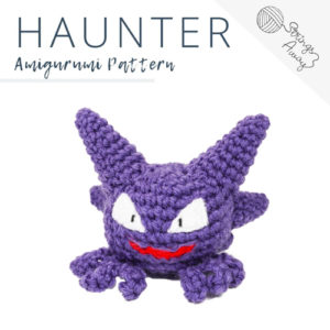 Pokemon Amigurumi Pattern – Haunter