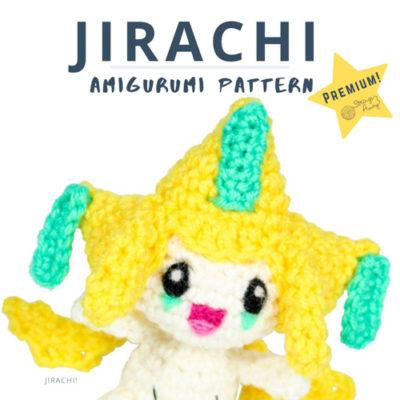 Jirachi Amigurumi- Premium PDF Pattern