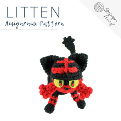 Pokemon Amigurumi Pattern – Litten