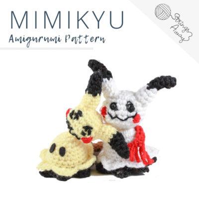 Pokemon Amigurumi Pattern – Mimikyu