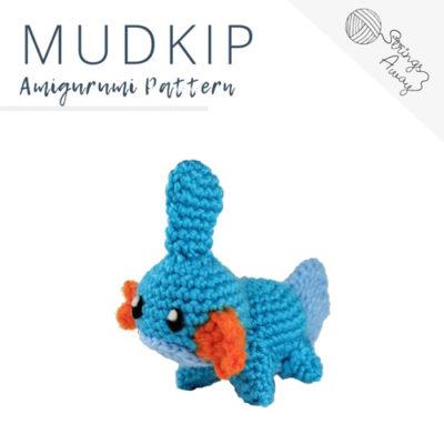 Pokemon Amigurumi Pattern – Mudkip