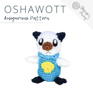 Pokemon Amigurumi Pattern – Oshawott
