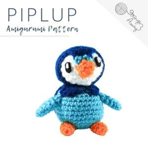 Pokemon Amigurumi Pattern – Piplup