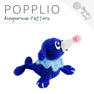Pokemon Amigurumi Pattern – Popplio