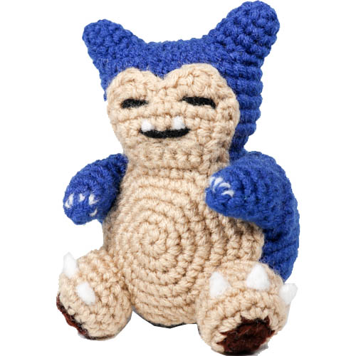 Mini Snorlax Pokemon Amigurumi Pattern