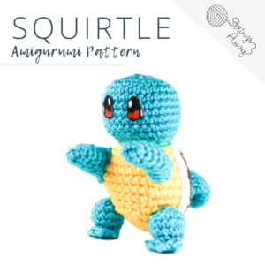 Pokemon Amigurumi Pattern – Squirtle