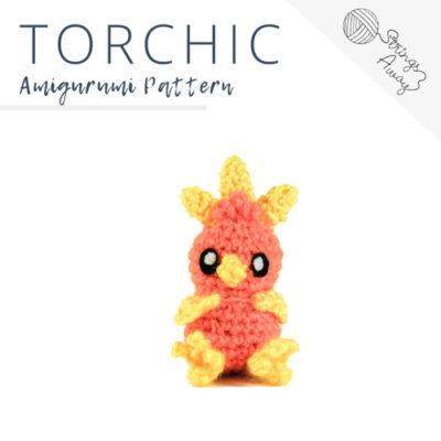 Pokemon Amigurumi Pattern – Torchic