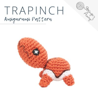 Pokemon Amigurumi Pattern – Trapinch