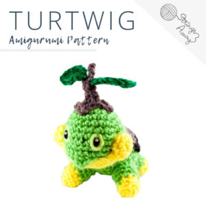 Pokemon Amigurumi Pattern – Turtwig