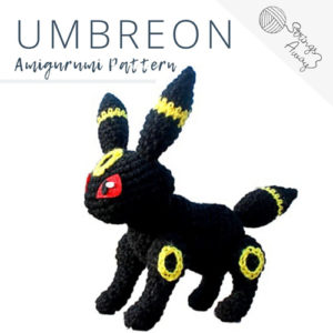 Pokemon Amigurumi Pattern – Umbreon