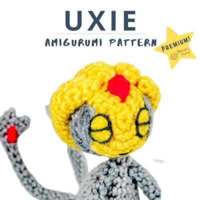 Uxie Pokemon Amigurumi- Premium PDF Pattern