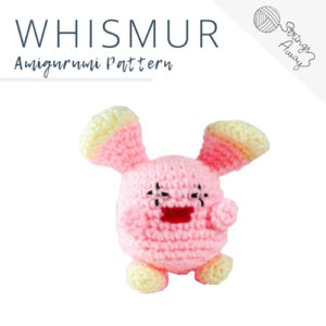 Pokemon Amigurumi Pattern – Whismur
