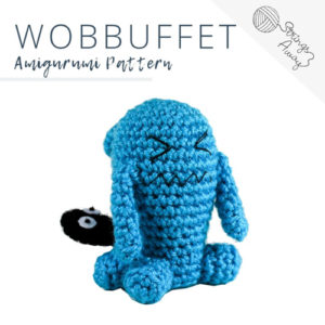 Pokemon Amigurumi Pattern – Wobbuffet