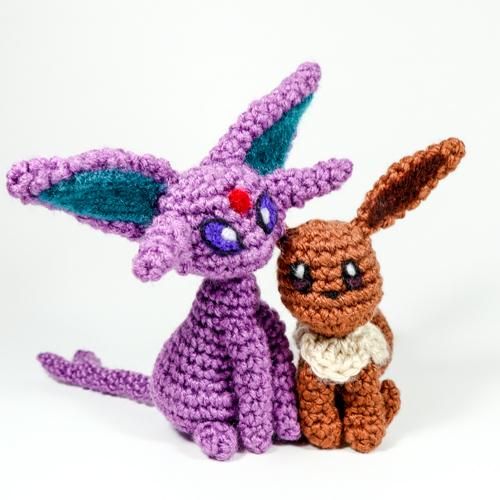 Espeon Crochet Amigurumi