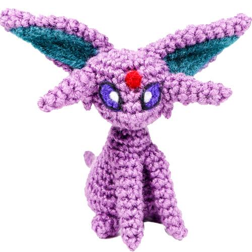 Espeon Pokemon Amigurumi Pattern