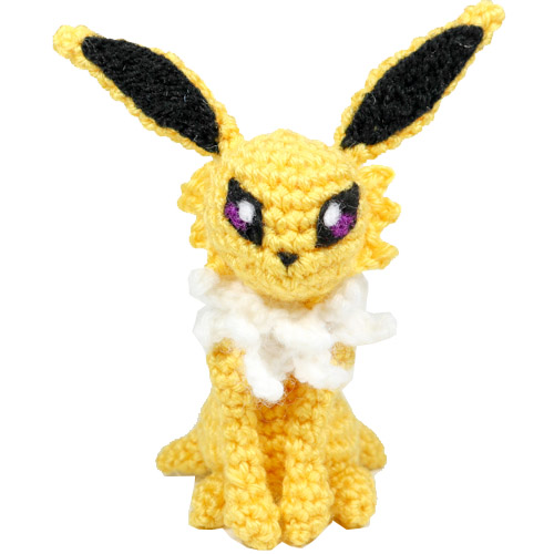 Pikachu Pokemon Crochet Tutorial - YouTube | 500x500