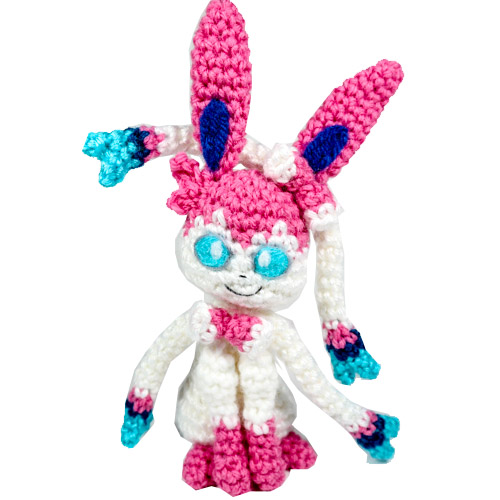 Sylveon Amigurumi Pattern