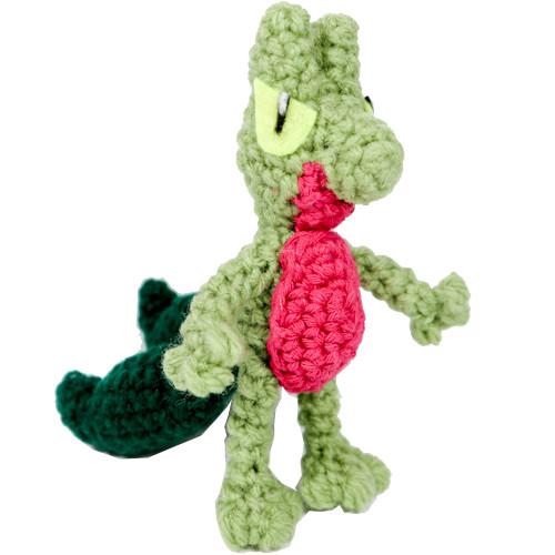 Crochet Treecko Pattern