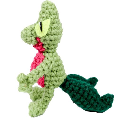 Treecko Crochet