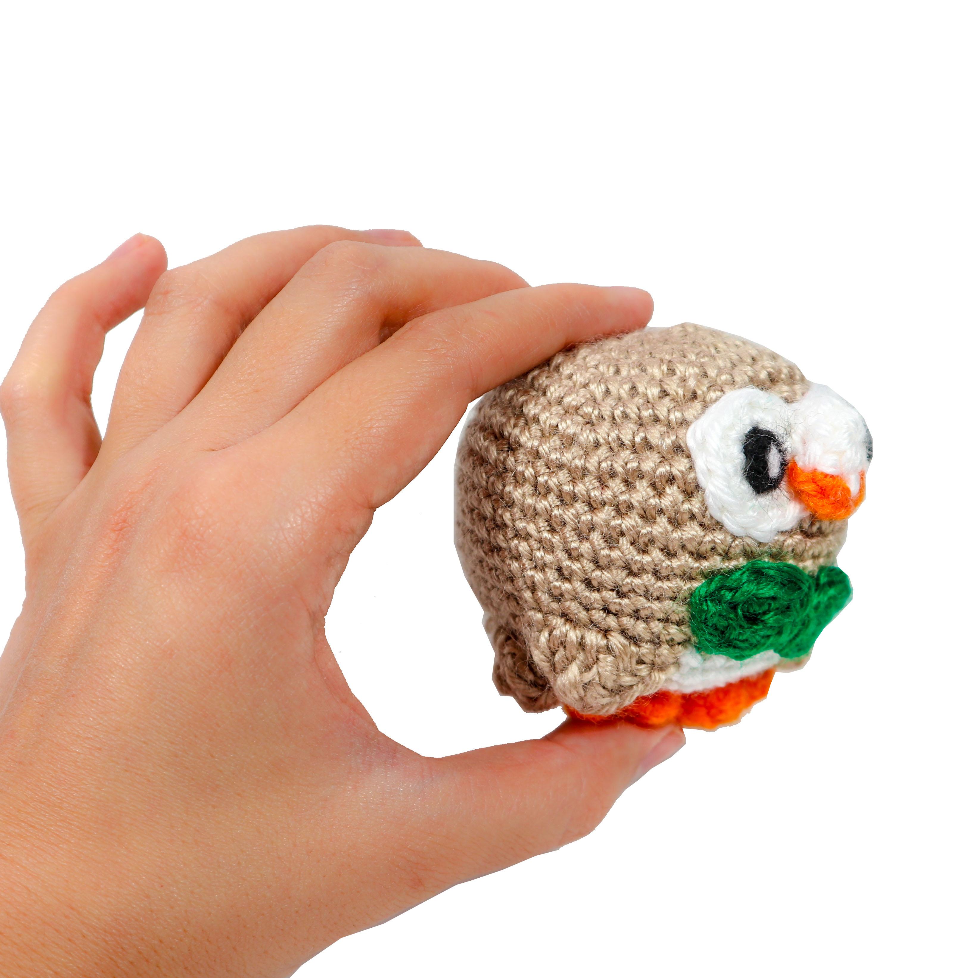 Rowlet Crochet Amigurumi