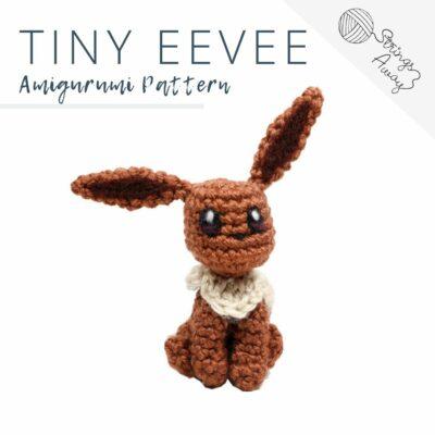 Pokemon Amigurumi Pattern – Tiny Eevee