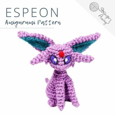 Pokemon Amigurumi Pattern – Espeon