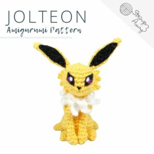 Pokemon Amigurumi Pattern – Jolteon