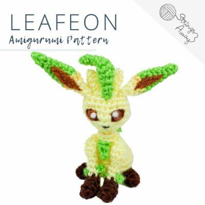 Pokemon Amigurumi Pattern – Leafeon