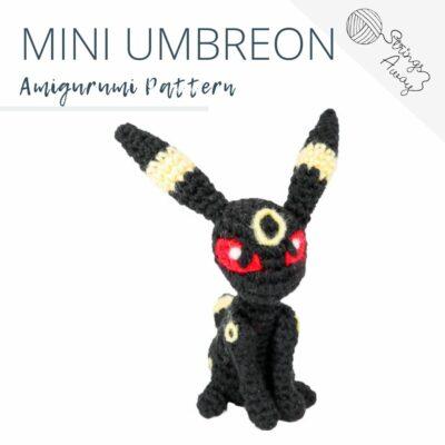 Pokemon Amigurumi Pattern – Mini Umbreon
