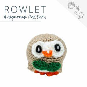 Pokemon Amigurumi Pattern – Rowlet