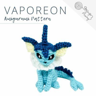Pokemon Amigurumi Pattern – Vaporeon