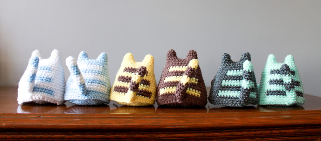 Crochet Dumpling Kitties Tails