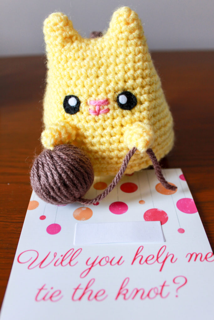 Amigurumi Bridesmaid Proposal