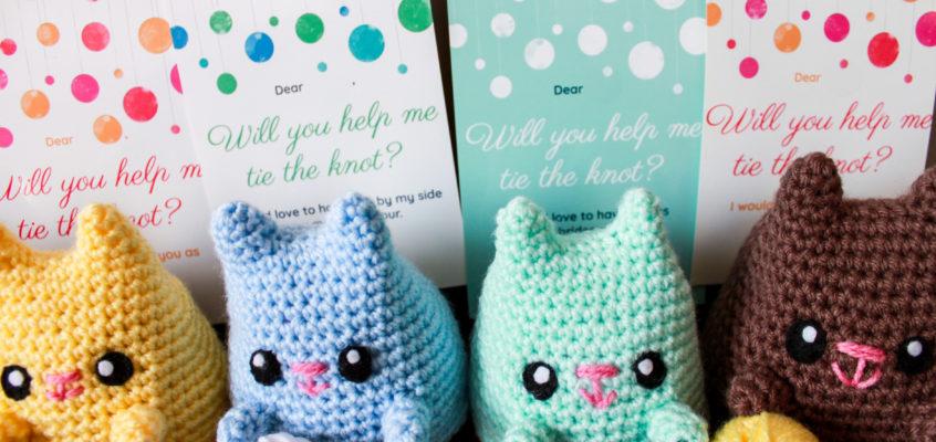Crochet Your Own DIY Bridesmaid Proposals!